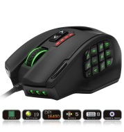 RGB backlit gaming mouse