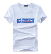 Half Sleeve Fashion Print T-Shirt