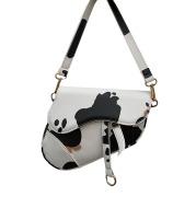 Mini small bag cow grain texture niche shoulder saddle bag