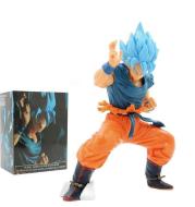 Blue Hair Goku Handmade Model Decoration