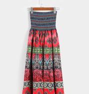 Bohemian swing skirt