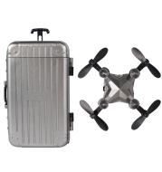 Mini suitcase drone small remote control aircraft