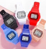 Square watch movement