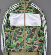 Sports casual stand collar camouflage jacket