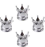Crown modified tire valve cap