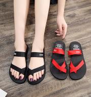 Women's sandals with flip-flops