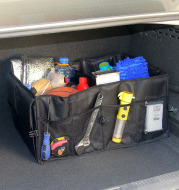 Car storage can store and organize packages
