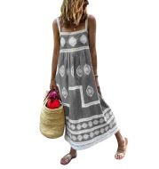 Printed multicolor dress