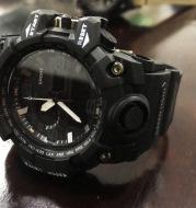 Dual display multi-function electronic watch