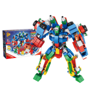 12 in 1 deformed small particles building blocks