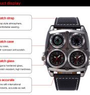 Quartz watch for men