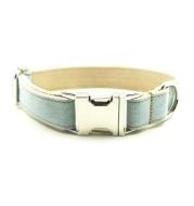 Blue cowboy pet dog collar