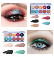 Matte eyeshadow palette waterproof natural makeup set