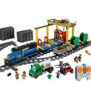 Cargo train puzzle puzzle plug toy