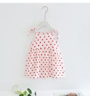 Girls Dress Baby suspender skirt