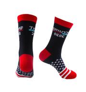 Flag socks men's cotton socks