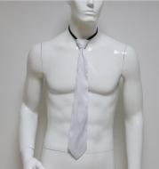 Glowing color changing men's smart tie