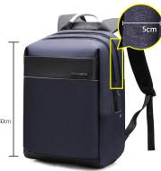 Computer backpack men''s European and American trend schoolbag