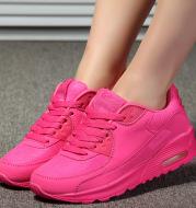Women's air cushion platform sports shoes