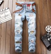 Straight vintage men's jeans