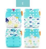 4 pack diaper pants