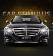Luxury car model