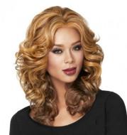 Medium long curly hair hood
