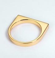 Female geometric ring