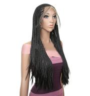 African dirty braided wig