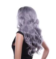 Dyeing long curly hair hood