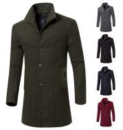 Mid-length men's coat
