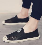 Fisherman linen canvas shoes
