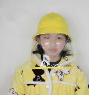 Anti-spray children's fisherman hat