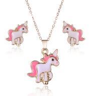 Alloy pony jewelry set