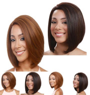 Straighten medium long and short straight hair