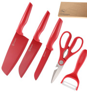 Knife Set Stainless Steel 5 Piece Set