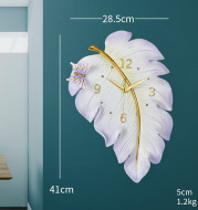 Household wall clock decoration