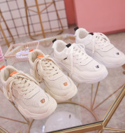 Mesh breathable white shoes