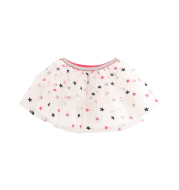 Girls' star mesh skirt