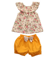 Summer Newborn Baby Girl Clothes Shorts Outfits