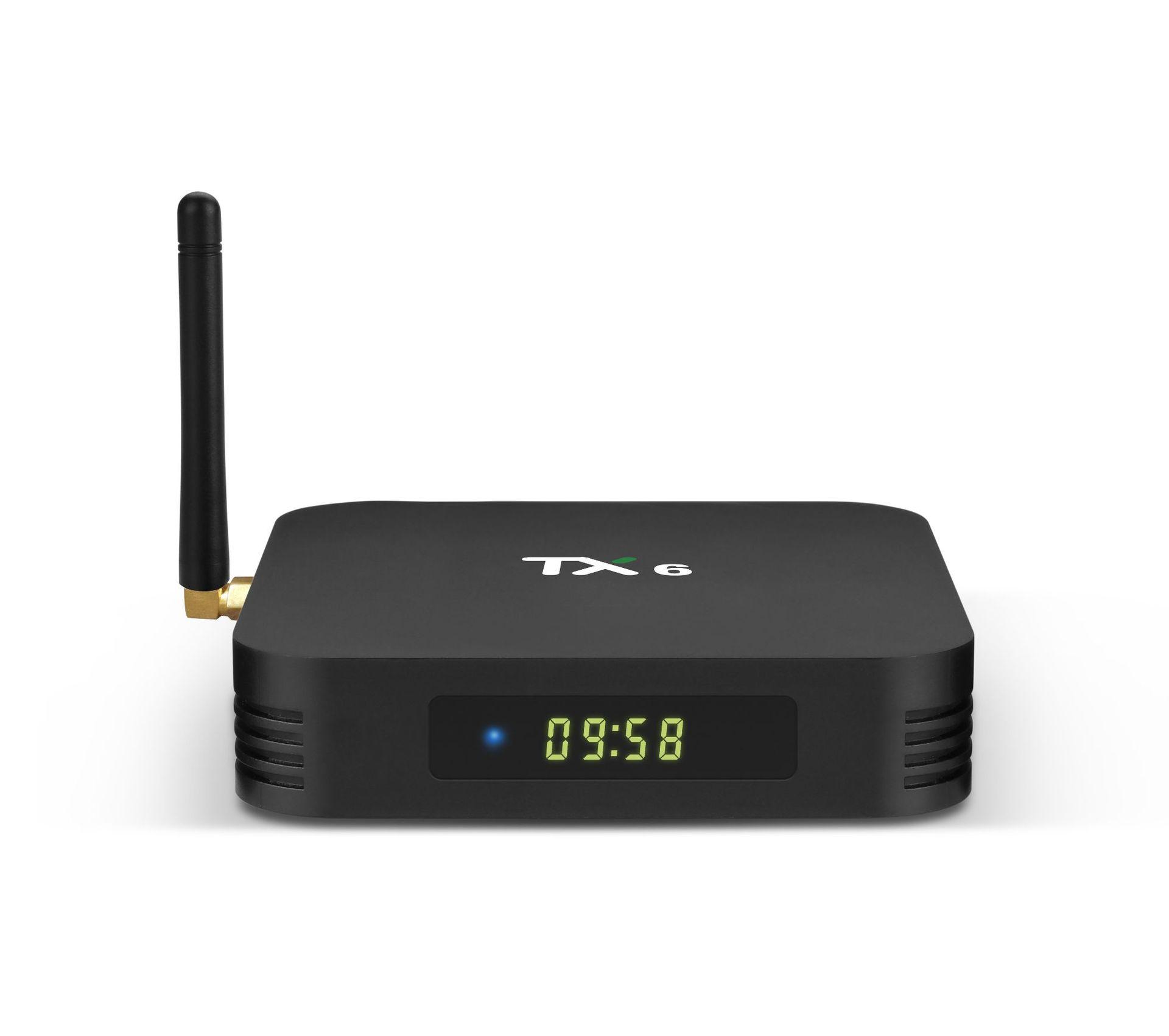 Tanix TX6 Allwinner H6 4GB RAM 32GB ROM 5G WIFI Bluetooth Smart TV Box