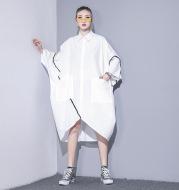 Irregular plus size dress