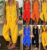 Hemp cotton jumpsuit