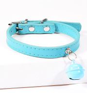 Pet cat cat color bell dog traction collar