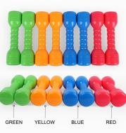 Children's dumbbell fitness equipment set