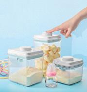 Transparent Milk Powder Box Sealed Container Moisture-proof Portable Large Capacity