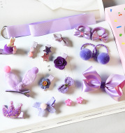 Girls hair accessories set
