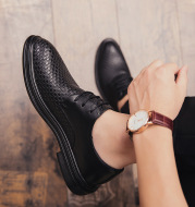 Pointed business shoes