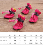 Pet shoes dog soft soled shoes