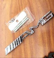 Zinc alloy rear labeling